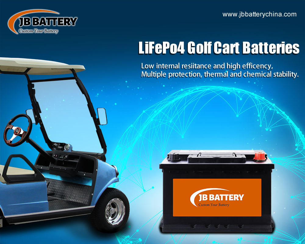 China LifePo4 Golf Cart Battery Pack Hersteller (35)