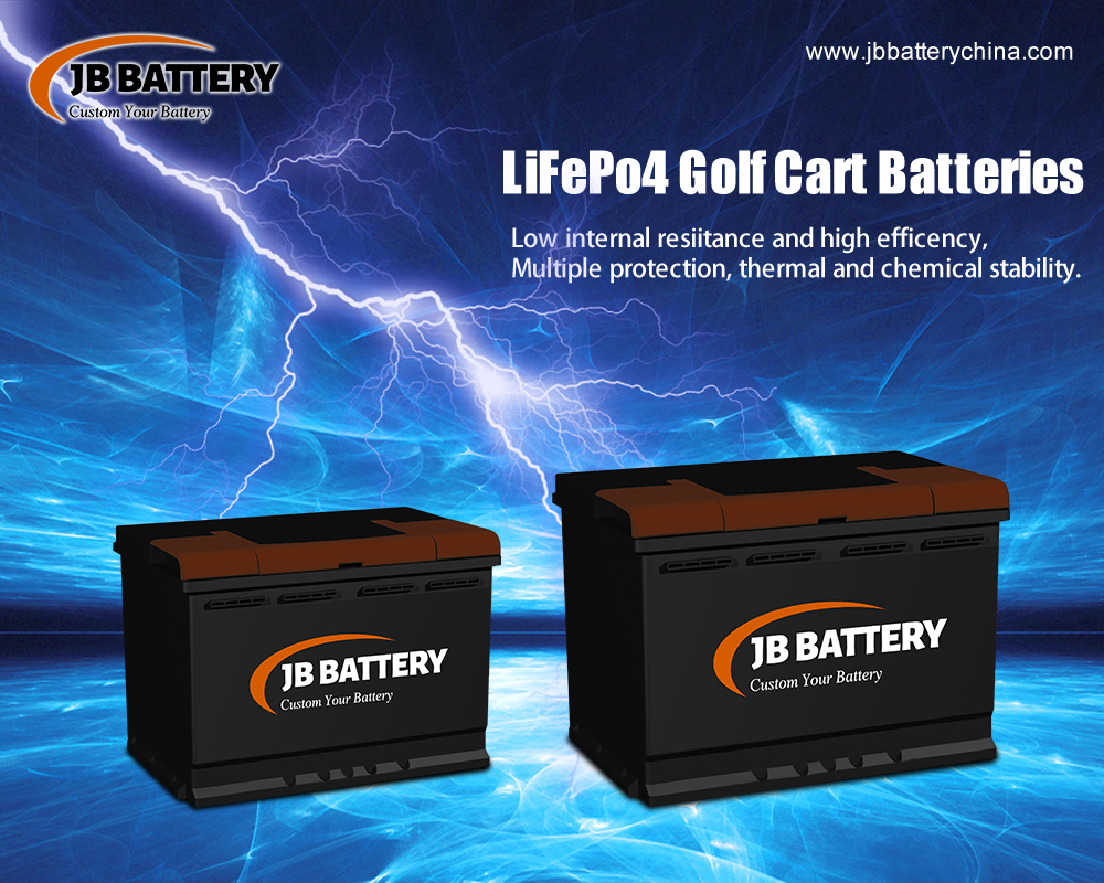 China LifePO4 Golfwagen Batteriepack Hersteller (8)