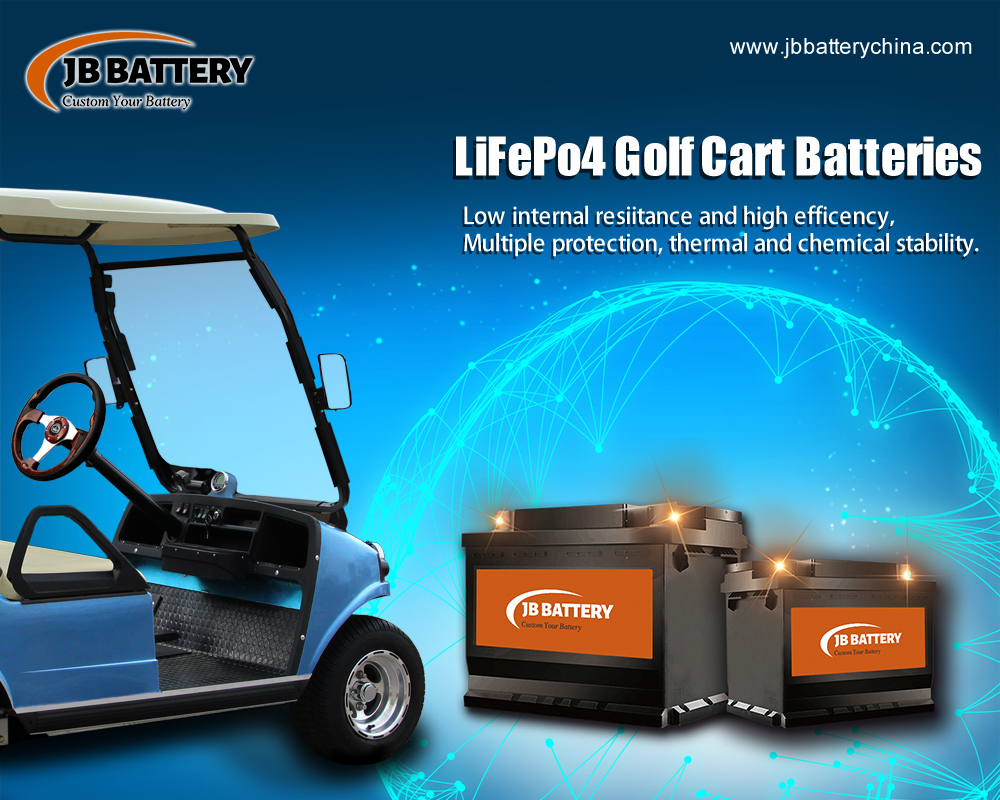 China LifePO4 Golfwagen Batteriepack Hersteller (36)